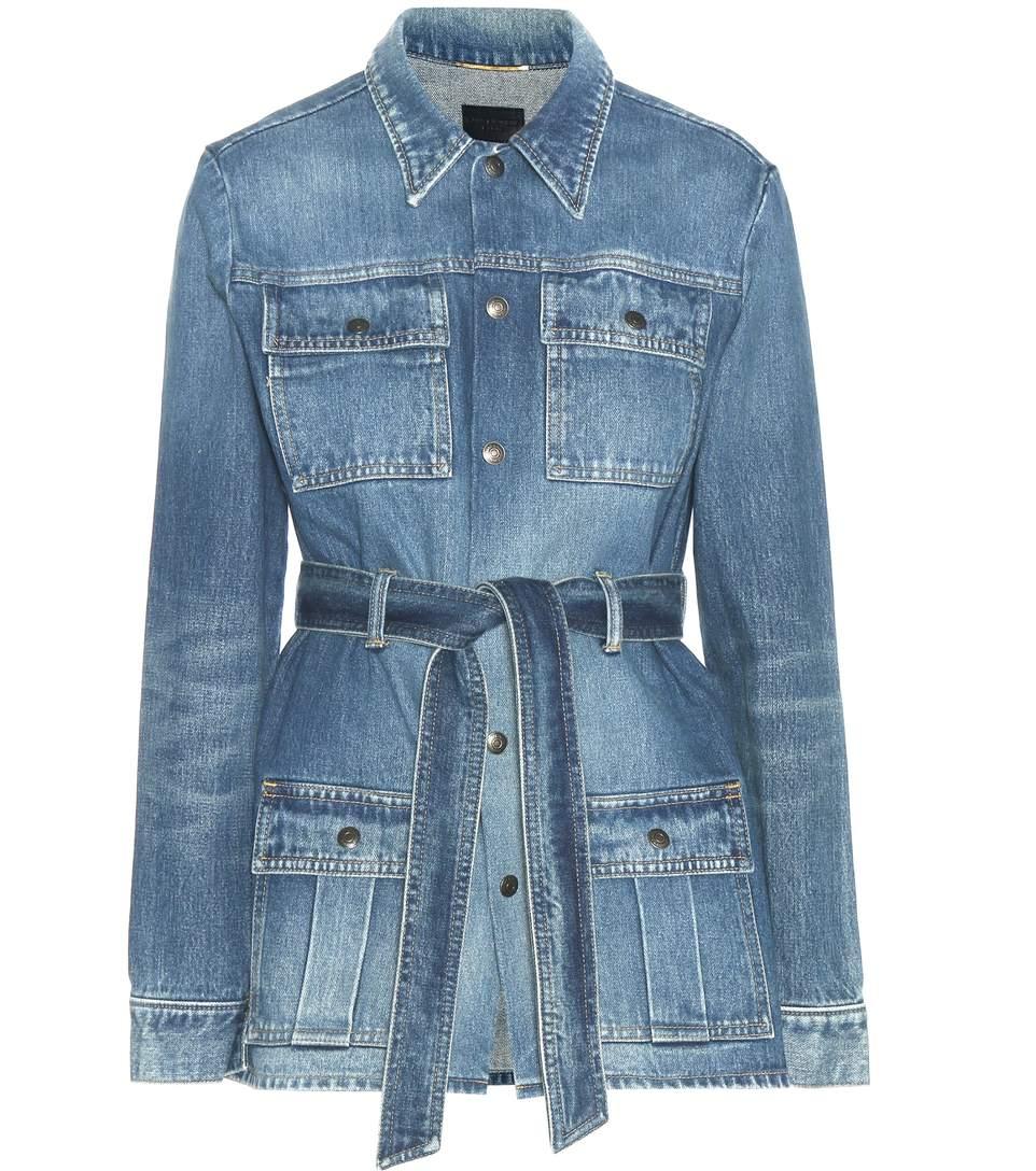 Giacca jeans Saint Laurent
