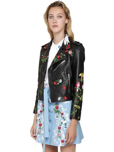Leather Jacket vivetta