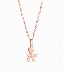 Regali natale: Lebebé collana oro rosa