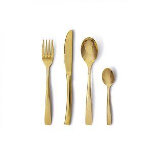 Regali natale: Posate oro