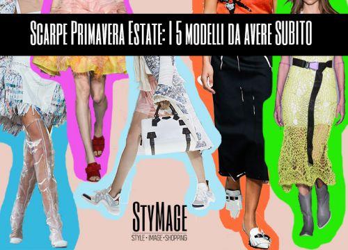 Scarpe Primavera Estate: I 5 modelli da avere SUBITO